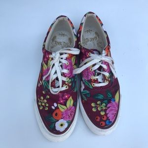 Keds + Rifle Paper Floral Sneakers